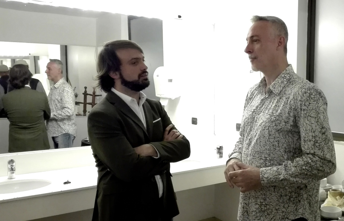 """Pedro Aznar a Jorge Sharp: """"Celebro que haya pensamiento como el tuyo en Sudamérica hoy"""""""