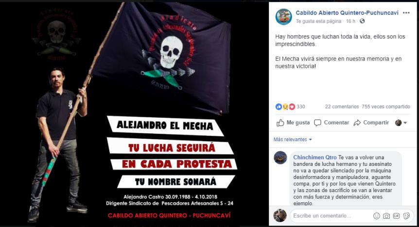 """PDI: """"Hay personas que están siendo investigadas"""" por la muerte de AlejandroCastro"""