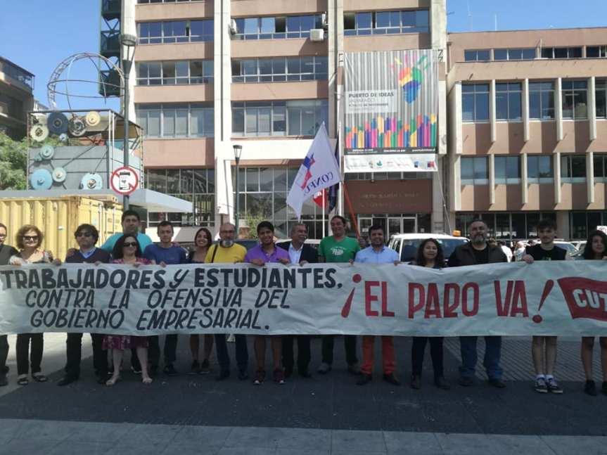 Coordinadora NO más AFP, estudiantes y Colegio de Profesores se suman a paro del 8 denoviembre