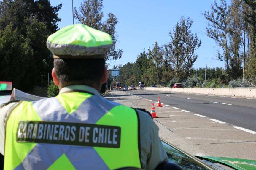 Año Nuevo: Carabineros activa Plan Ruta Segura a contar de este viernes en la región deValparaíso