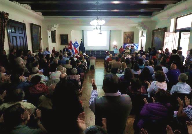 Amenaza de bomba pone fin anticipado a acto de conmemoración de los 60 años de la Revolución Cubana enValparaíso