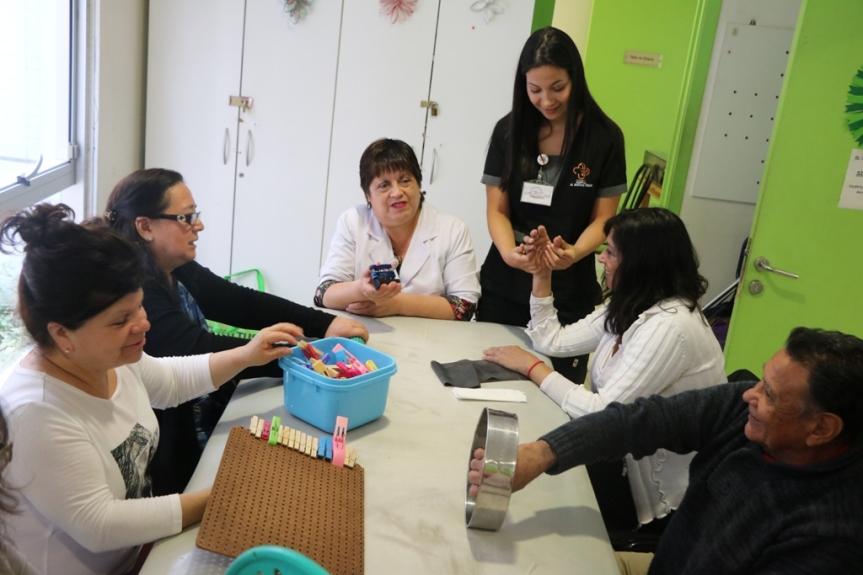 Pacientes logran su reinserción gracias a terapia ocupacional en Hospital Dr. GustavoFricke