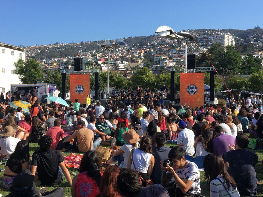 Con masiva asistencia culminó Altamira Jazz Fest deValparaíso