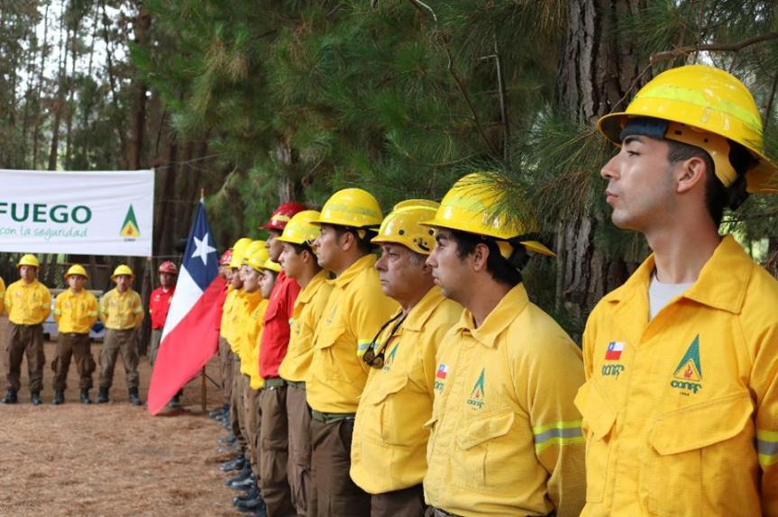 CONAF Región Valparaíso conmemoró Día Nacional del BrigadistaForestal