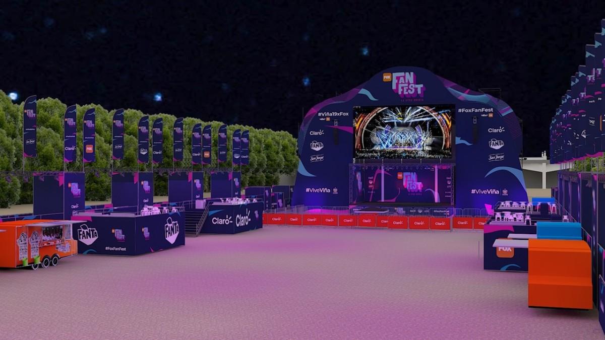 """""""Fox Fan Fest"""" acompañará las noches festivaleras en Viña del Mar"""
