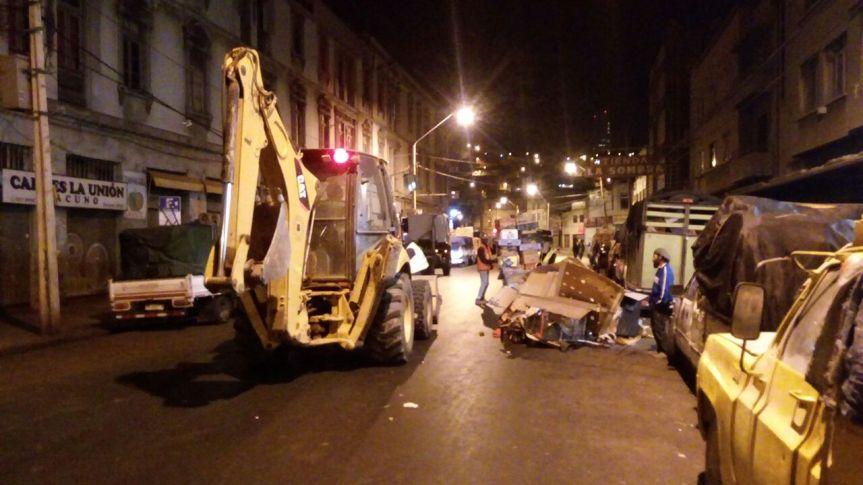 Fiscalizaciones nocturnas del Municipio porteño buscan mejorar el entorno del MercadoCardonal