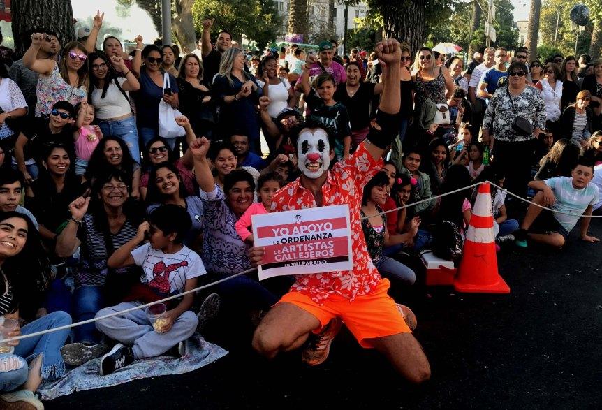 Ordenanza de Artes Callejeras en Valparaíso llega a su fasefinal