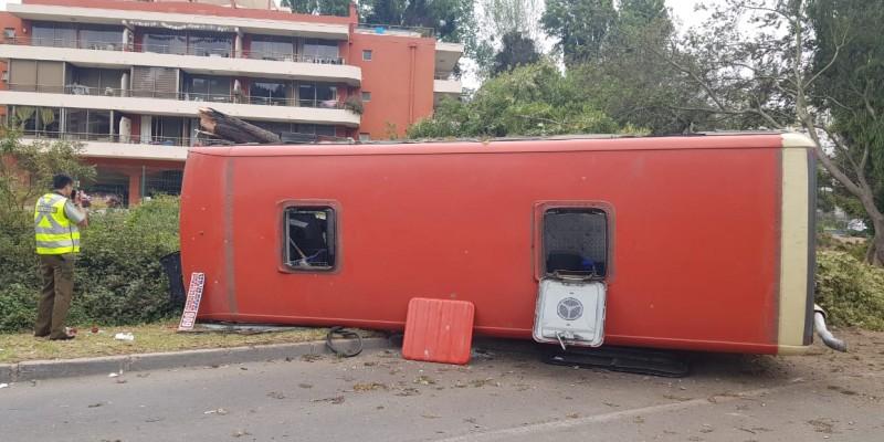 """CORE Campusano llama a Ministerio de Transportes """"a poner los verdaderos temas sobre la mesa"""" tras nuevo accidente de microbús en Viña delMar"""