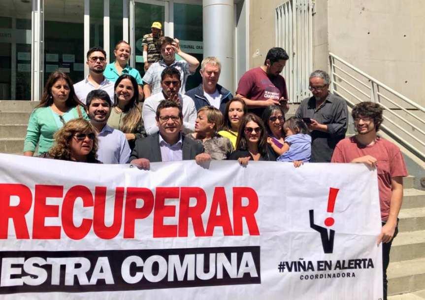 Vecinos y dirigentes sociales interponen querella criminal contra Municipalidad de Viña delMar