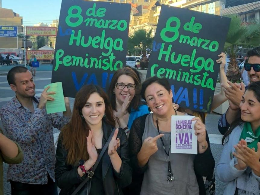 Frente Amplio hace llamado a la Huelga Feminista en Viña delMar