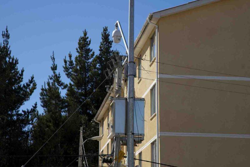 Placilla de Peñuelas ahora cuenta con 10 nuevas cámaras detelevigilancia