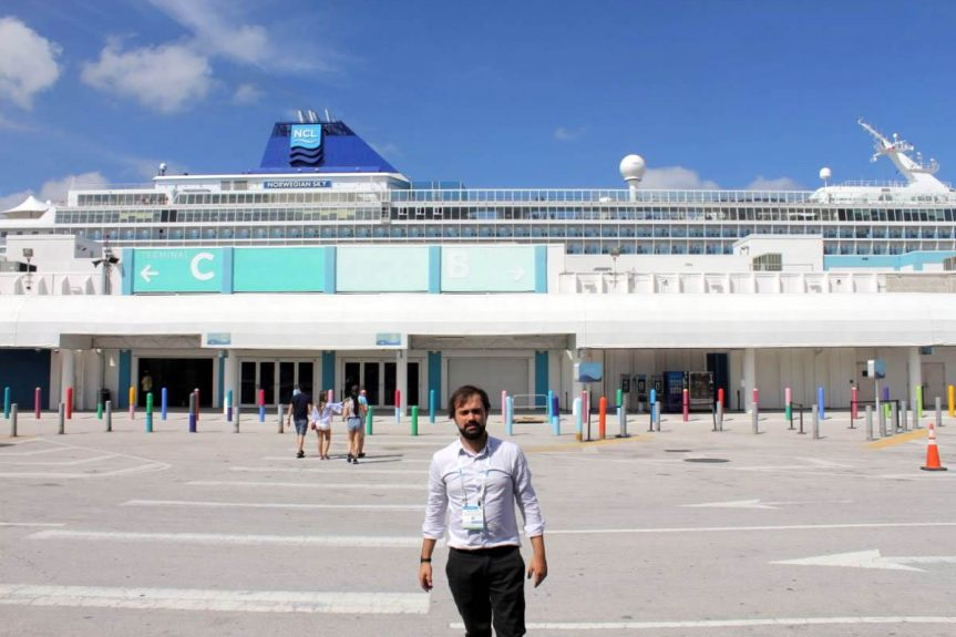 Alcalde Jorge Sharp ya está en Miami en Seatrade Cruise2019
