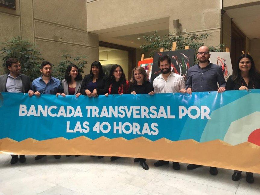 Diputados conforman la Bancada Transversal por las 40horas