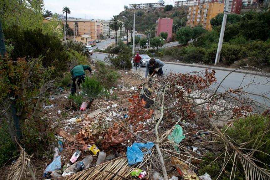 Municipio porteño realizará limpieza profunda de vertederos ilegales de laciudad