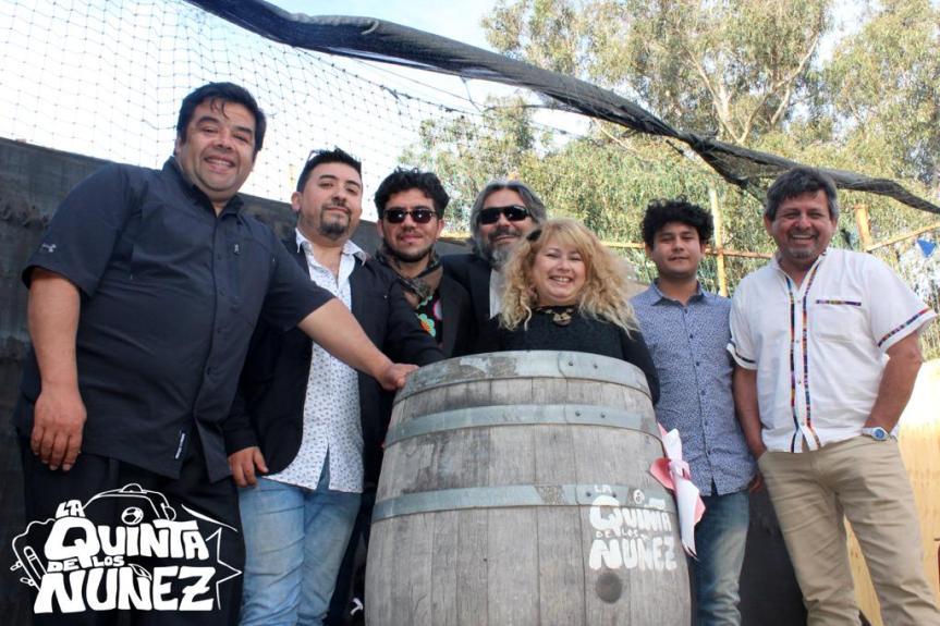 Video oficial del nuevo disco de La Quinta de los Núñez se grabará este sábado con públicoasistente
