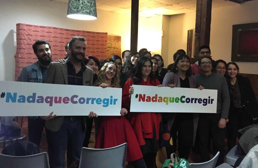 Lanzan campaña #NadaQueCorregir contra acciones que busquen modificar orientación sexual o identidad de género en menores deedad