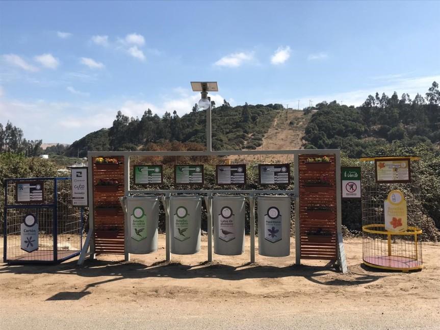 """""""0"""" Residuo:Santa Julia es la primera comunidad rural de Quintero en tener un puntolimpio"""