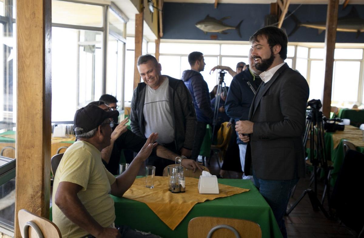 Alcaldía Ciudadana y pescadores de Caleta El Membrillo lanzan actividad para Semana Santa en Valparaíso