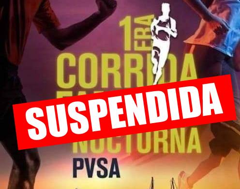 """Suspendida """"Corrida familiar"""" en Ventanas por riesgos a lasalud"""