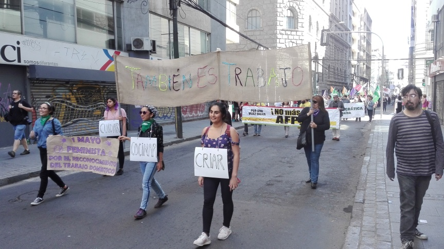 [FOTOS] Marcha del 1 de Mayo enValparaíso