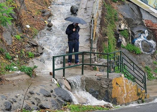 Autoridades en alerta por frente de mal tiempo previsto para esta semana enValparaíso