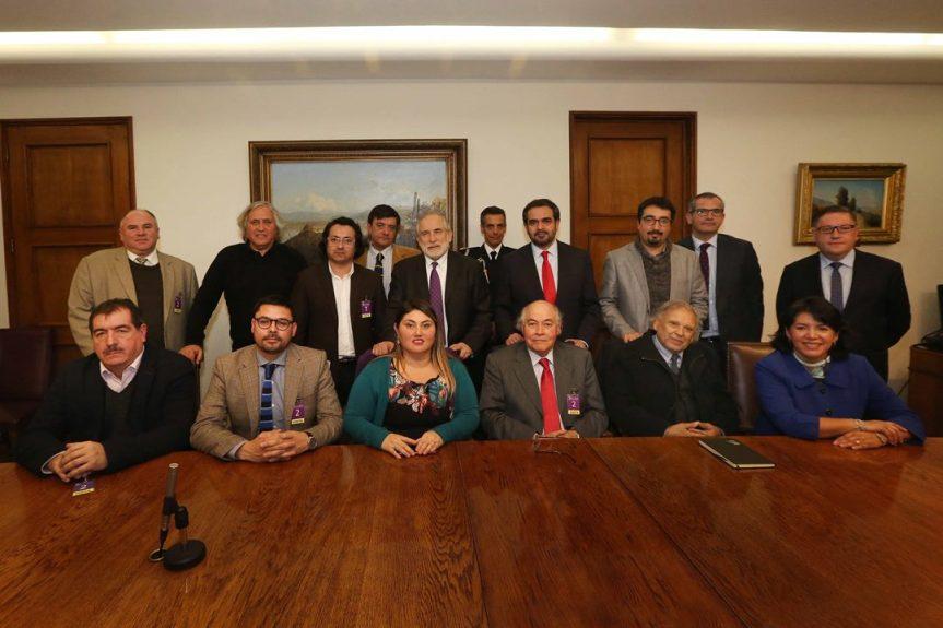 Cambios curriculares: Legisladores se reúnen con Premios Nacionales de Historia y académicos para conocer suopinión