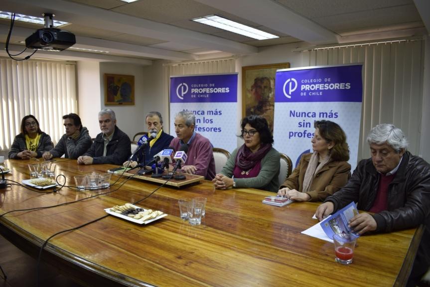 Profesores marcharán este martes desde Placilla hasta el Congreso Nacional enValparaíso