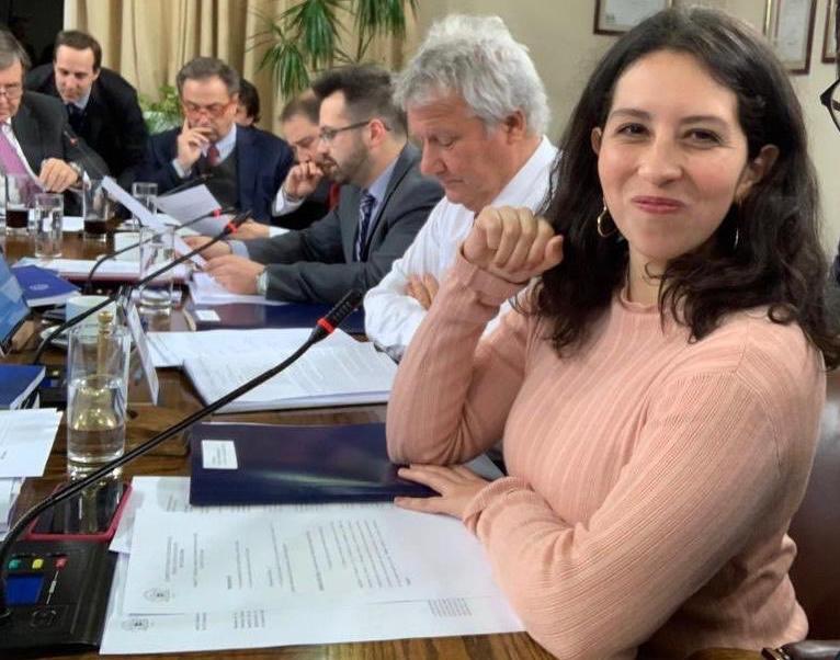 Diputada Gael Yeomans asume presidencia de Comisión de Trabajo y SeguridadSocial