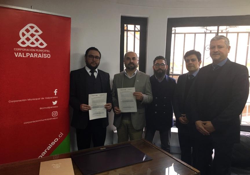 Corporación Municipal de Valparaíso culminó convenio de colaboración con la Contraloría con 100% decumplimiento