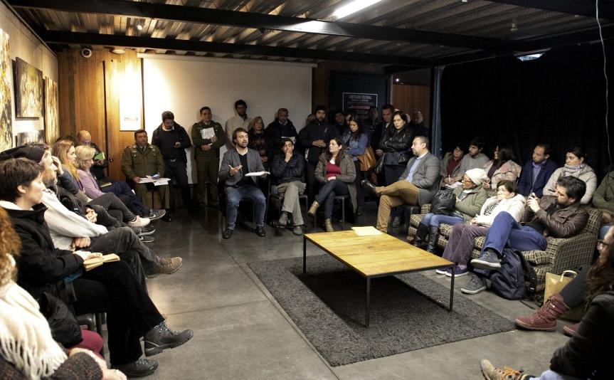 Alcalde Sharp enviará carta de petición a Ministro del Interior para fortalecer seguridad ciudadana enValparaíso