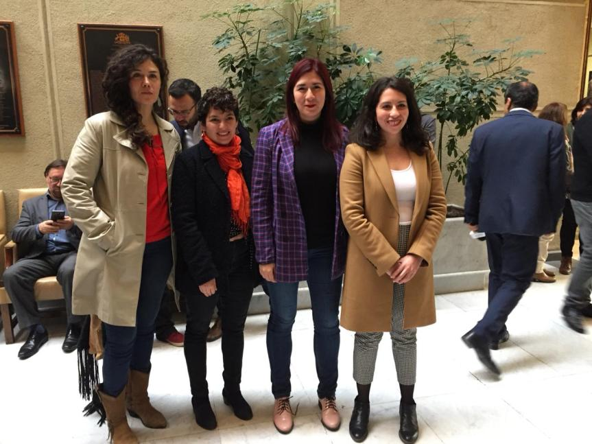 Presidentas y diputadas del Frente Amplio exigen a Piñera reactivar AgendaMujeres
