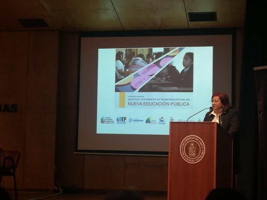 Área de Educación de Corporación Municipal de Valparaíso participó en importante seminarionacional