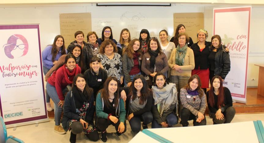"""Proyecto feminista """"Valparaíso con lentes de mujer"""" avanza en formación y propuestas de urbanismo yplanificación"""