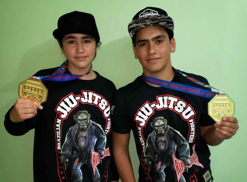 Medalla de oro en Panamericano de Jiu-Jitsu obtienen jóvenes deQuilpué