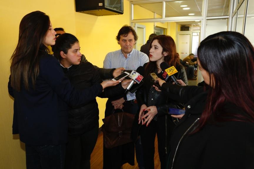 """CORE Nataly Campusano sobre intendente Jorge Martínez: """"Ya no es un interlocutorválido"""""""