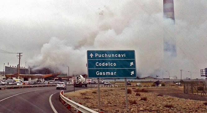 Ofician a Superintendencia de Medio Ambiente por emergencia ambiental de Quintero-Puchuncaví