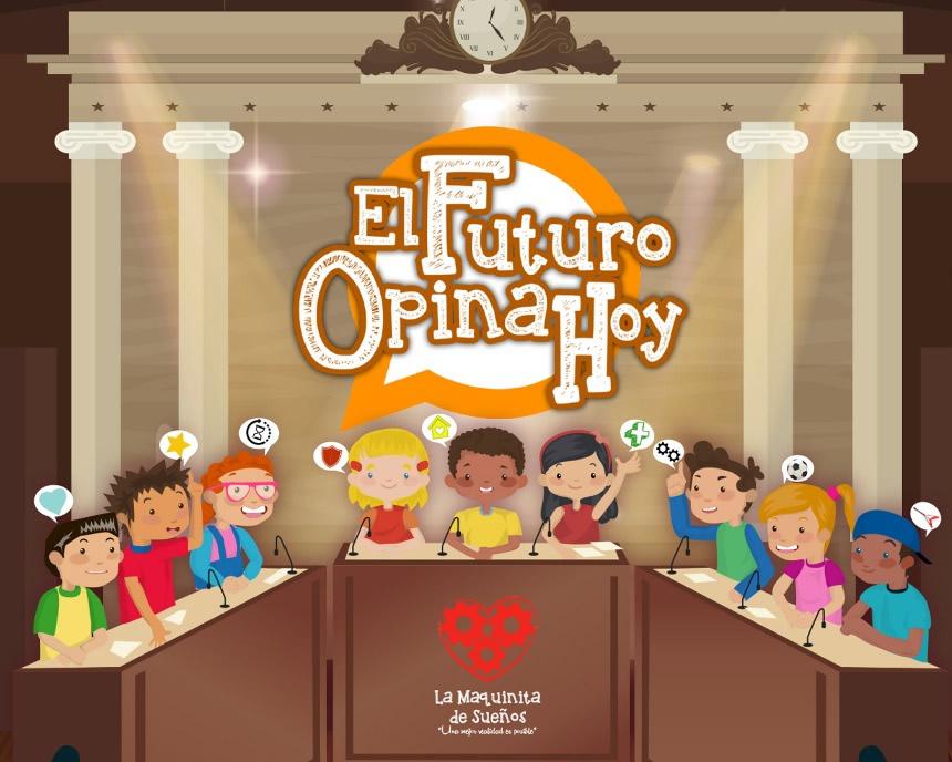 """Debate """"El futuro opina hoy"""" permitirá a niños y niñas ejercer su derecho a opinar acerca de polémica """"Regulación horarioinfantil"""""""