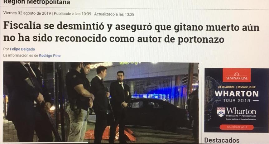 """[OPINION] Joven gitano asesinado: el """"Caso Catrillanca"""" de la PDI (por GatoDequinta)"""