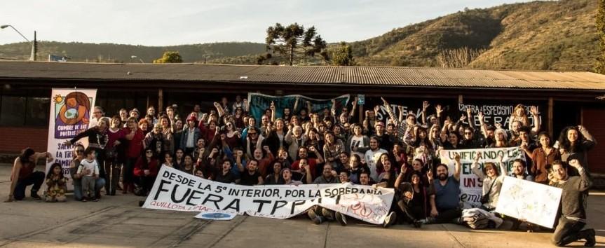 Cumbre de los Pueblos: en Limache se autoconvocó larebeldía