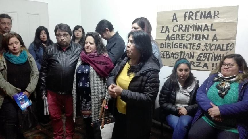 """Habla madre de joven baleada en cerro Polanco: """"Es muy difícil ser dirigente, menos cuando el cerro está tomado por los narcotraficantes"""""""