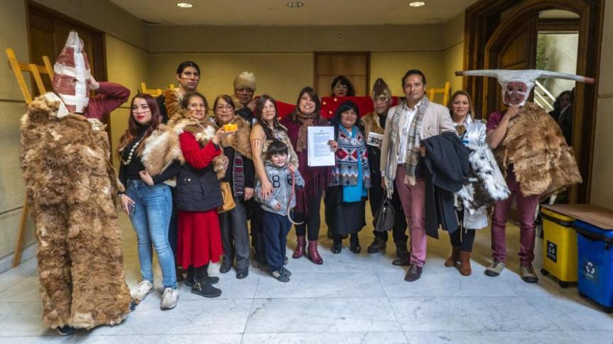 Presentan proyecto de ley que busca reconocimiento del puebloSelk'nam