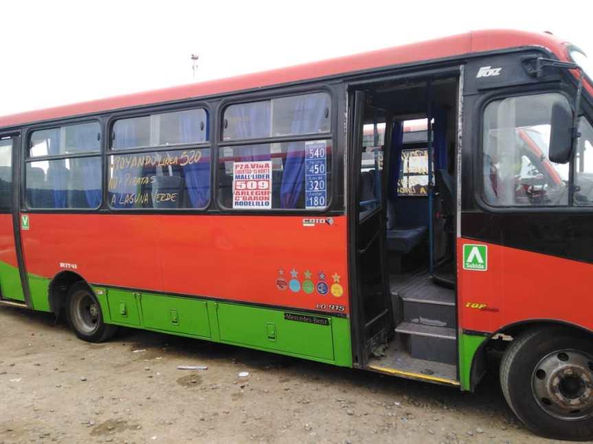 Paro de advertencia de línea 520 de microbuses: no descartan paralización completa enValparaíso
