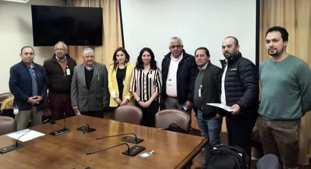 Choferes de microbuses de Valparaíso se reúnen con presidenta de Comisión de Trabajo de laCámara