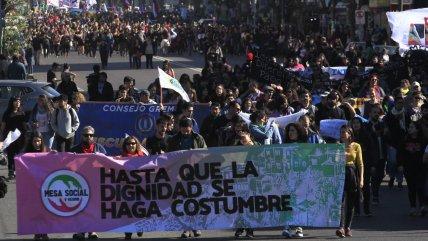 """""""Nos cansamos, nos unimos"""": Organizaciones sociales de Valparaíso llaman a protestar el 5 deseptiembre"""