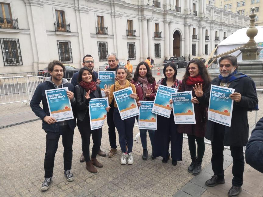 Colegio de Profesores manifiesta su apoyo al proyecto de 40horas