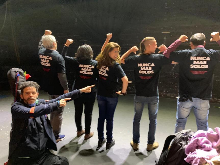 """""""Nunca más solos"""": La unidad de la clase trabajadora se abrepaso"""