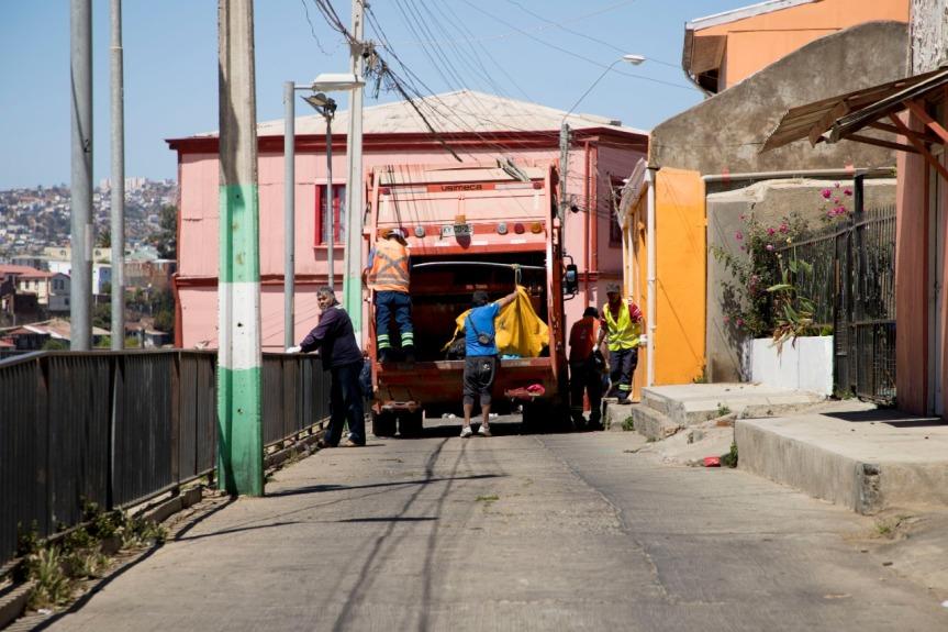 Municipio porteño fortalecerá modelo de gestión de recolección de aseo enValparaíso