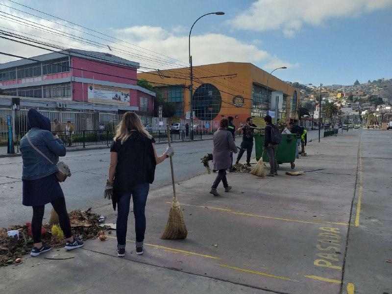 Municipio retoma recolección domiciliaria en los cerros deValparaíso