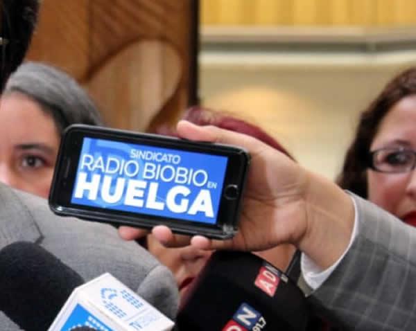 Periodistas del Frente Amplio apoyan huelga legal de Radio BíoBío