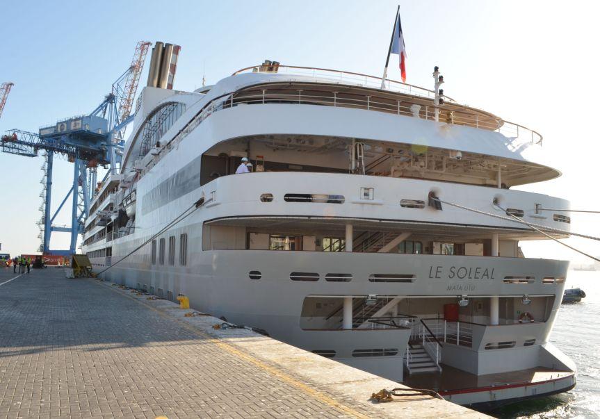 Valparaíso recibe al primer crucero de la Temporada2019-2020